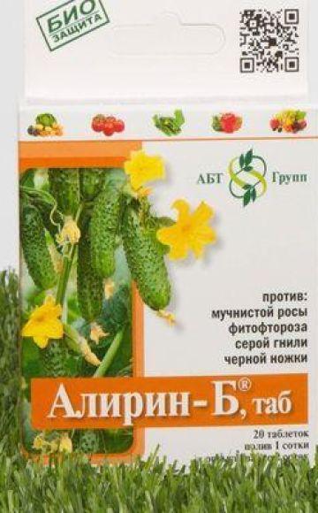 Samenstelling en instructies voor het gebruik van het fungicide Alirin-B, dosering en analogen