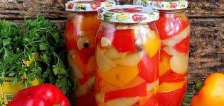 Schritt-für-Schritt-Rezepte für die Zubereitung von Paprika in Honig zu Hause für den Winter