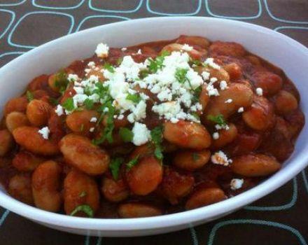Χειμερινές ελληνικές συνταγές σνακ φασολιών