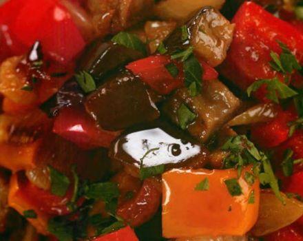 TOP 3 recetas para cocinar berenjenas con pimientos y tomates para el invierno