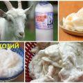 Propiedades medicinales y contraindicaciones de la grasa de cabra, cómo usarla correctamente.