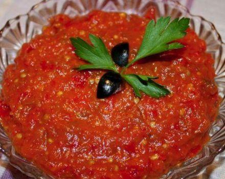 A TOP 7 egyszerű és finom recept a paprika kaviár készítéséhez télen