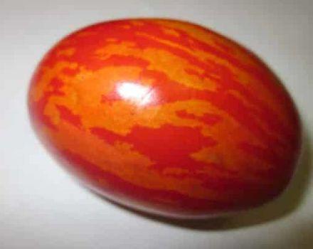Eigenschaften und Beschreibung der Tomatensorte Osterei