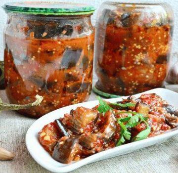 Egy finom recept padlizsán főzéshez aszalt szilvával és a tároláshoz