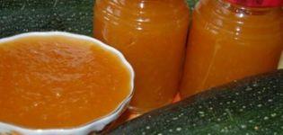 Recette étape par étape de confiture de courgettes et courgettes aux abricots pour l'hiver