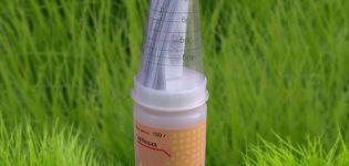 Instrucciones de uso del herbicida Harmony, tasas de consumo y análogos.