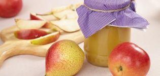 TOP 2 deliciosas recetas para hacer mermelada de manzana y pera para el invierno