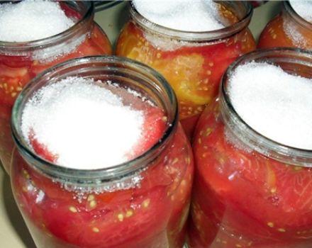 Recepti za brzo soljenje oguljenih rajčica za zimu