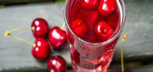 11 retete pas cu pas pentru prepararea preparatelor de cirese pentru iarna