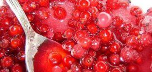 TOP 3 recepty na výrobu džemu z červeného rybízu na zimu bez varenia