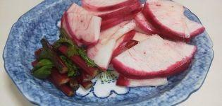 A legjobb receptek a fehérrépa betakarításához télen