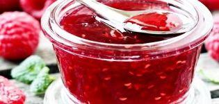 Recept za pravljenje džema od maline bez sjemenki za zimu