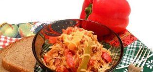 Recept na varenie zeleninových zakarpatských svačiniek na zimu