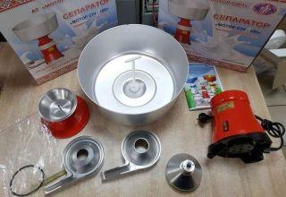 Kako pravilno sastaviti i koristiti separator mlijeka, upute