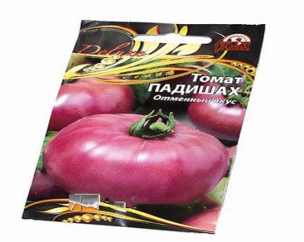 Opis odrody paradajky Padishah a jej vlastnosti