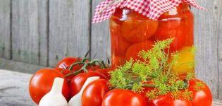 TOP 8 recetas sencillas y deliciosas para encurtir tomates para el invierno de forma dulce
