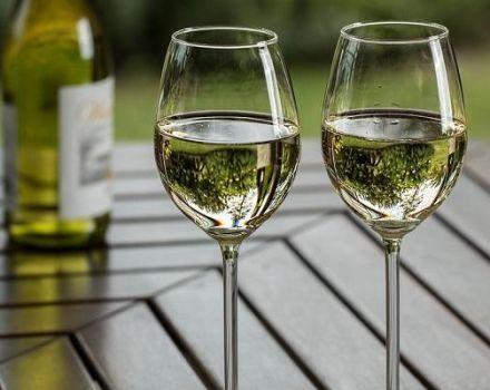 4 rețete ușoare de vin de struguri verzi de casă