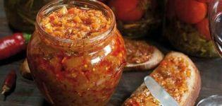 Deliciosas recetas de caviar de calabacín y berenjena para el invierno te lamerás los dedos.