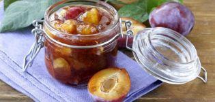 Reteta pas cu pas pentru gem de prune de chihlimbar cu felii intregi pentru iarna