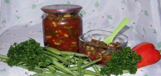 Recetas de judías verdes y espárragos en salsa de tomate para el invierno