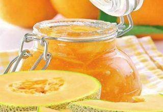 Una receta simple paso a paso para hacer mermelada de melón para el invierno.