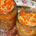 A legfinomabb recept az azonnali koreai cukkininek a télre