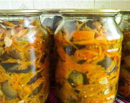 3 cele mai bune retete pentru prepararea vinetelor cu morcovi pentru iarna