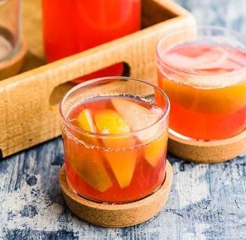 3 deliciosas recetas de compota de manzana y melocotón para el invierno
