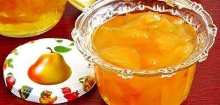 Jednostavan recept za pekmez od kruške s limunskom kiselinom za zimu