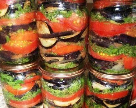 Las 5 mejores recetas de aperitivos de berenjena con tomates y ajo para el invierno