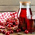 Recetas de compota de cerezas para el invierno, con y sin esterilización, para un tarro de 3 litros