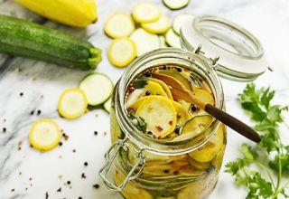Receptek a cukkini és a tök betakarításához a télre