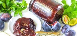 TOP 10 rețete pentru prepararea gemului de prune cu cacao pentru iarnă