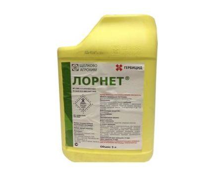 Instrucțiuni de utilizare a erbicidului Lornet, rate de consum și analogi