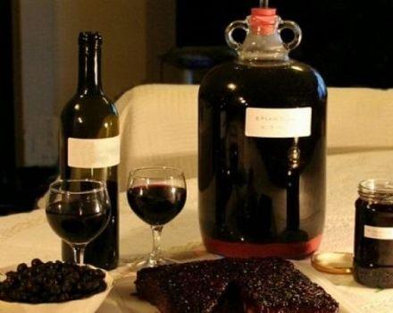 11 rețete simple pentru a face vin de la Irgi acasă