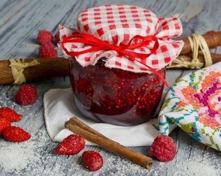 Una receta sencilla de mermelada de fresa cinco minutos para el invierno.