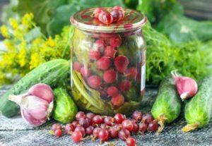 A recept pácolt uborkára egres télen ecet nélkül