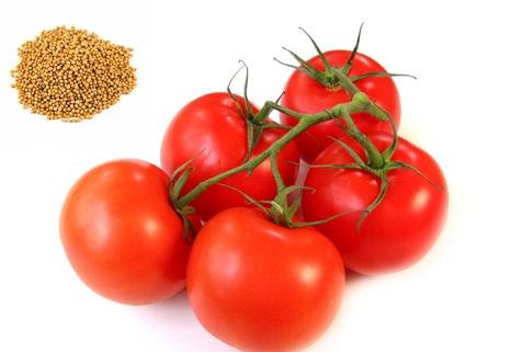 mostaza y tomate