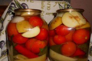 Receptek paradicsomkonzerv almával télen nyalni fogják