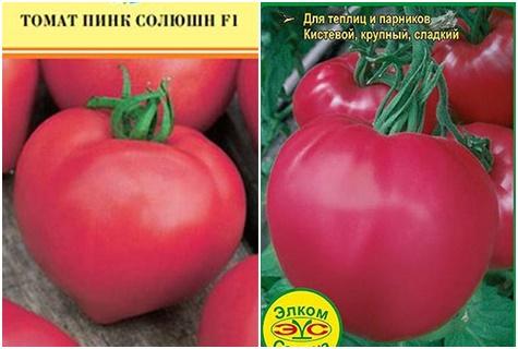 paradajkový ružový roztok