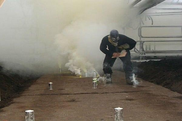 inspectores de azufre