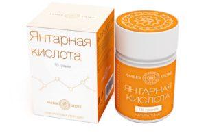Dozarea și aplicarea acidului succinic pentru tabletele de castraveți