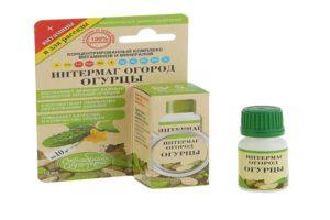 Instrucțiuni de utilizare a medicamentului Grădina de legume Intermag pentru castraveți