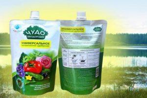 Primjena organskog gnojiva Čudo plodnosti: prednosti i nedostaci