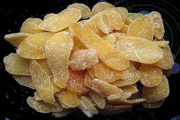 producción de frutas confitadas