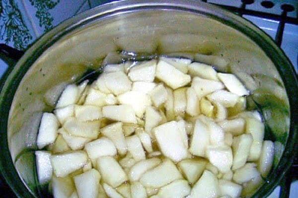 pepene proces de fierbere