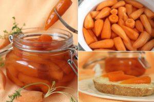 O rețetă simplă pentru a face gem de morcovi pentru iarnă