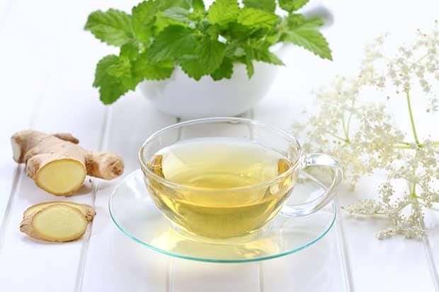 té con jengibre