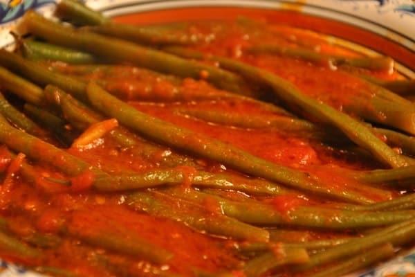 picar las verduras