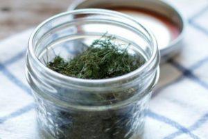 A 10 legkedvesebb recept arra, hogyan lehet a kaporot otthon télen sózni üvegekbe, arányban